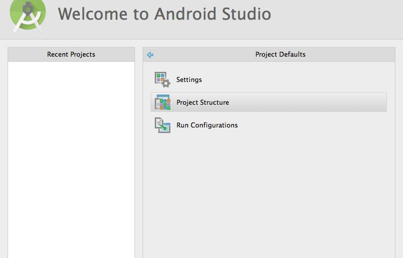 Cambiar la ruta del SDK de Android en Android Studio