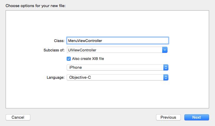 Crear un menú lateral usando SWRevealViewController en Objective-C