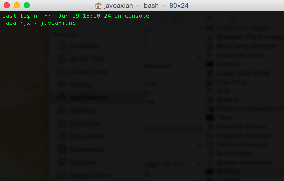 Desinstalar Java 8 JDK en Mac OS X