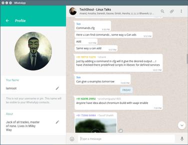 Whatsapp Desktop: cliente de WhatsApp para Linux Mint (GNU/Linux)